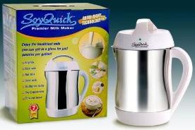 NEW 2009 Soymilk Maker - SoyQuick Premier Milk Maker 930P