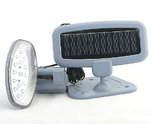 Solar Powered 15 LED Security Light and Motion Detector 2013