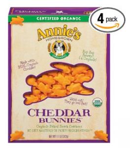 Annie's Homegrown Organic Cheddar Bunnies