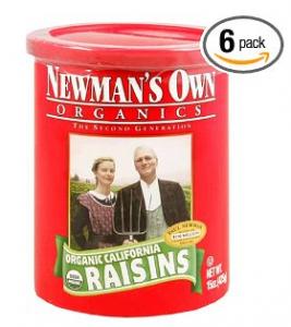 Newman's Own Organics Organic California Raisins