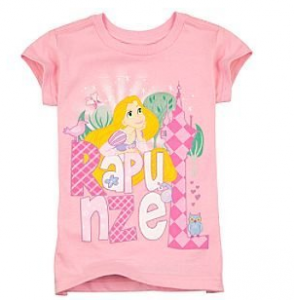Disney Organic Rapunzel Tee for Girls