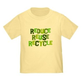 Reduce Reuse Recycle Infant/Toddler T-Shirt