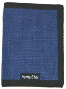 Hempstar Blank Blue Men's Vegan Wallet