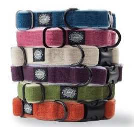 Planet Dog Cozy Hemp Adjustable Collar