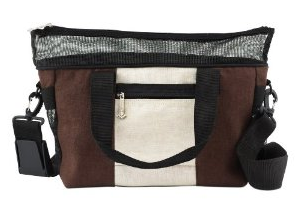 Doggles Dog Carrier Hemp Messenger Bag