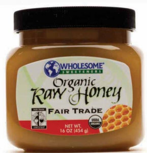 Wholesome Sweeteners Organic Fair Trade Raw Honey