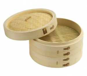 Joyce Chen 10-Inch Bamboo Steamer Set